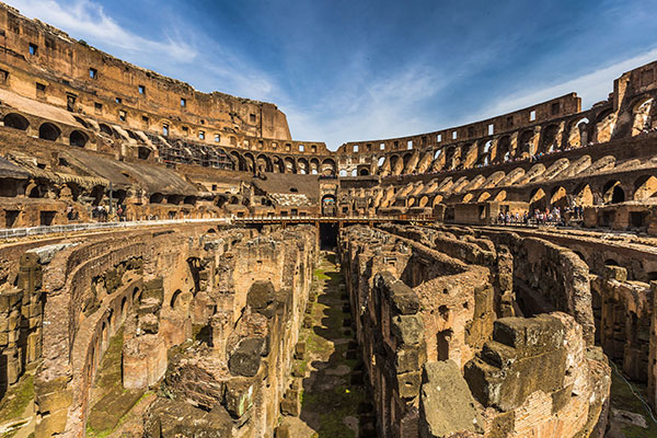 Understage-of-the-Colosseum