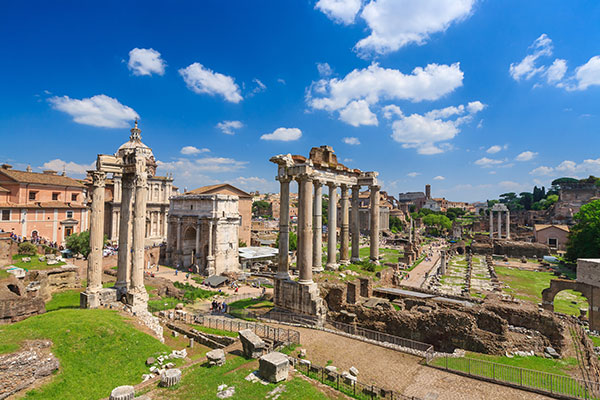 View-of-the-Roman-Forum