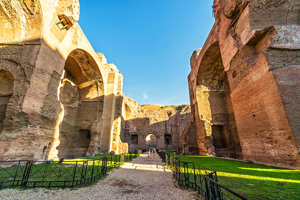 Caracalla-baths-inside