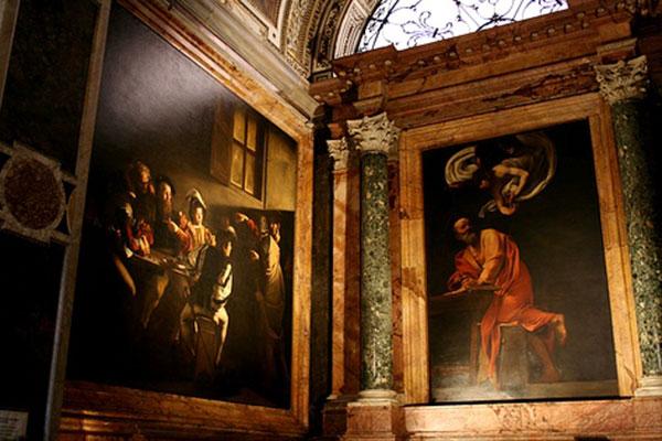 Caravaggio-in-Rome