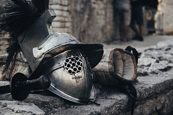 Gladiator's-helmet-Rome
